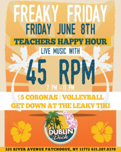 Teacher Happy Hour
