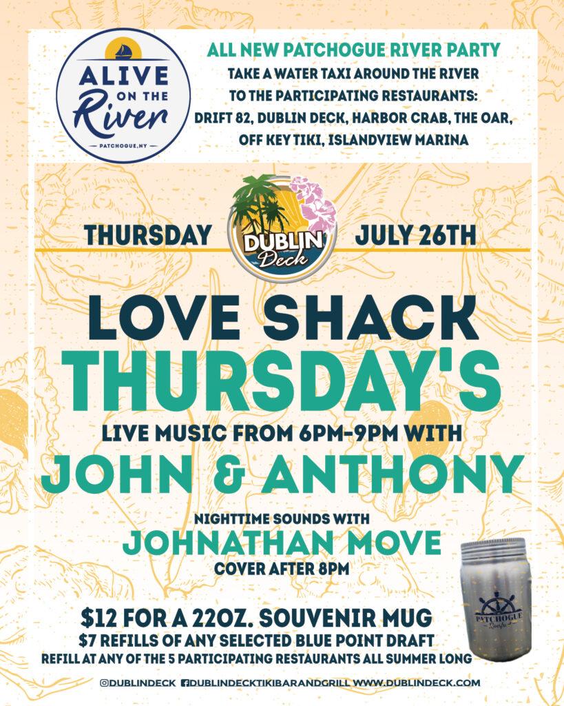 Love Shack Thursday