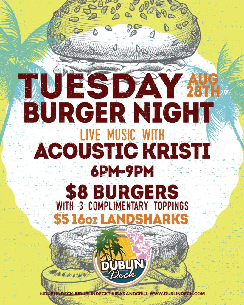 Tuesday Burger Night