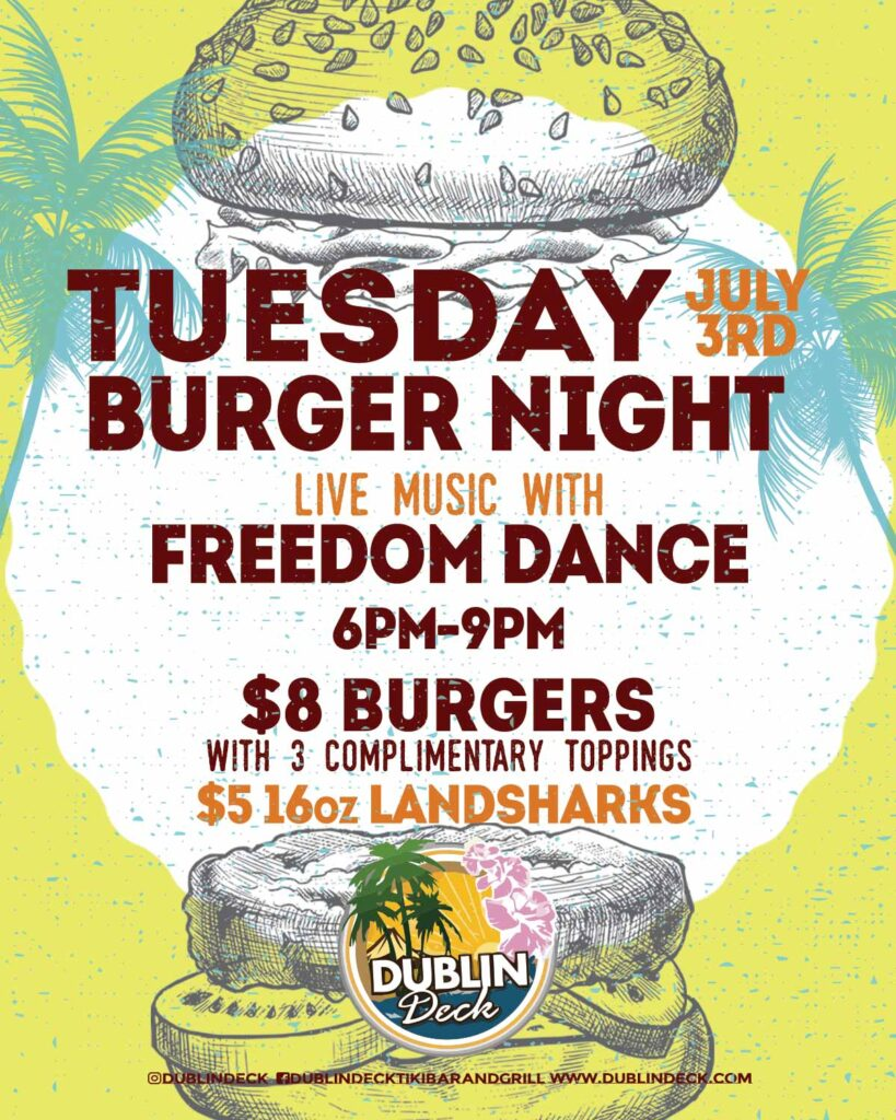 Tuesday Night Burger Night
