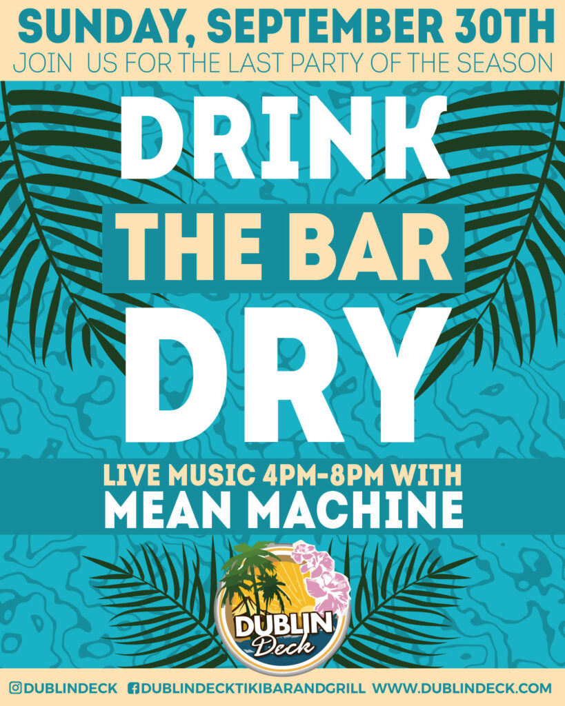 Drink the Bar Dry