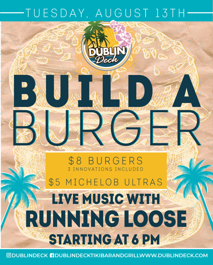 Build a Burger – Live Music with Running Loose