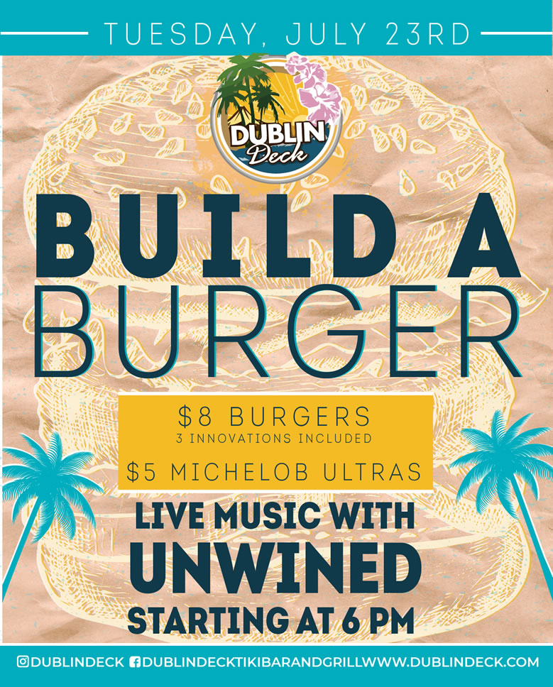 Build a Burger – Live Music with UnWined