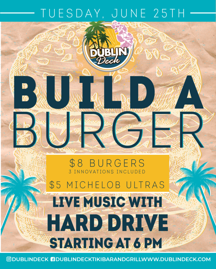 Build a Burger – Live Music with Hard Drive