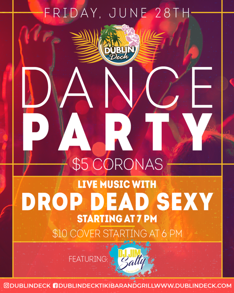 Dance Party – Live Music with Drop Dead Sexy