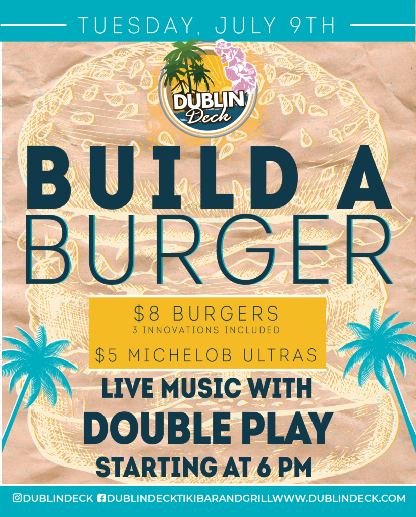 Build a Burger – Live Music with Double Play