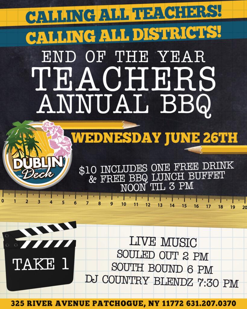 Teachers Annual BBQ