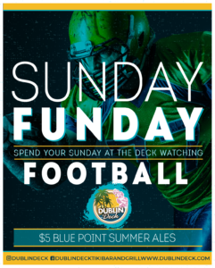 Sunday Football Flyer