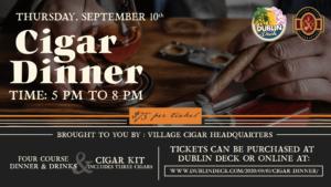 Cigar Dinner, 9/10