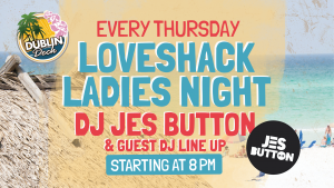 Live Music with DJ Jes Button every Thursday