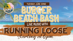 Live Music with Running Loose June 22nd