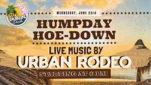 Live Music with Urban Rodeo June 23rd