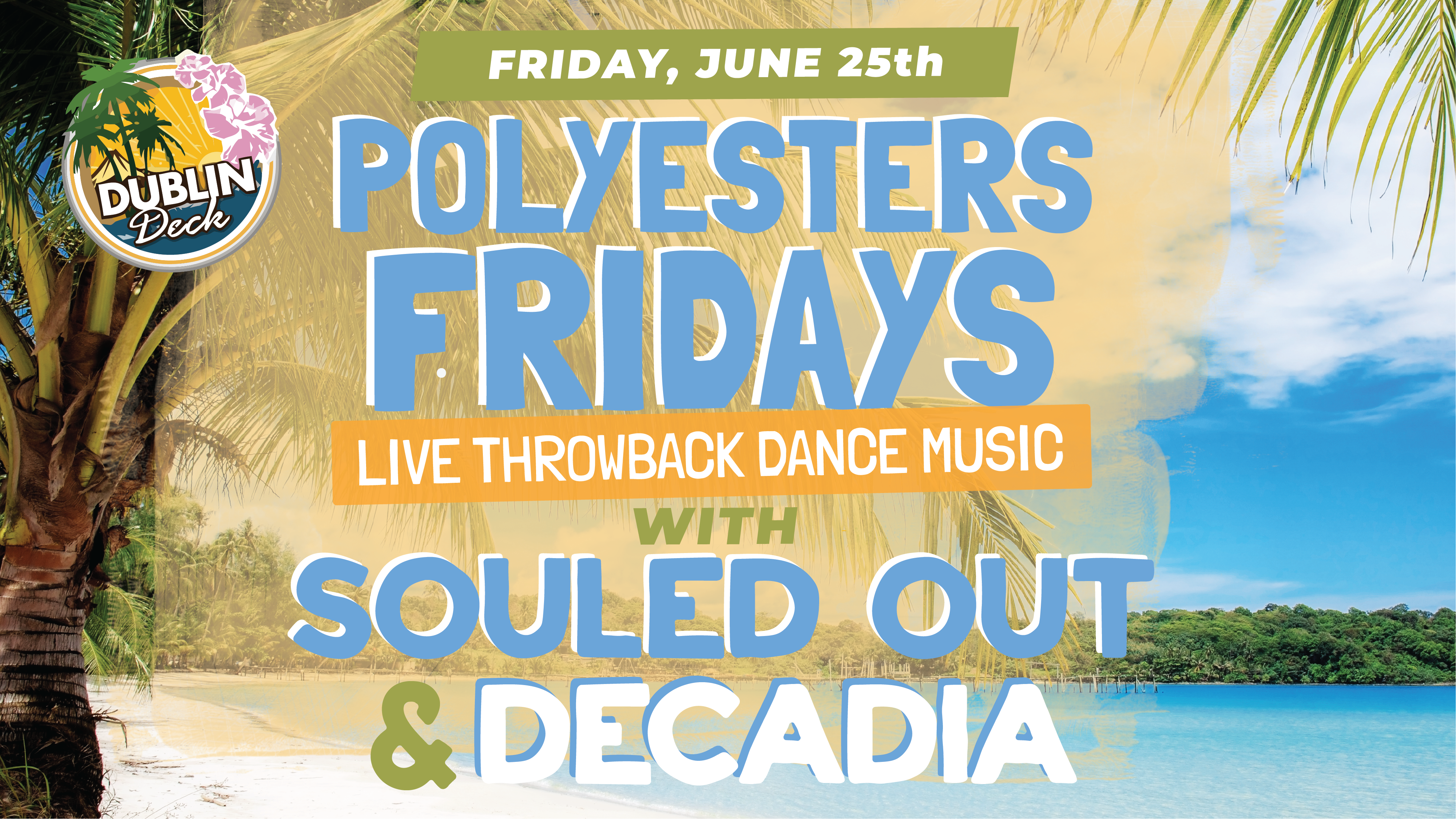 Live Music with Souled Out and Decadia
