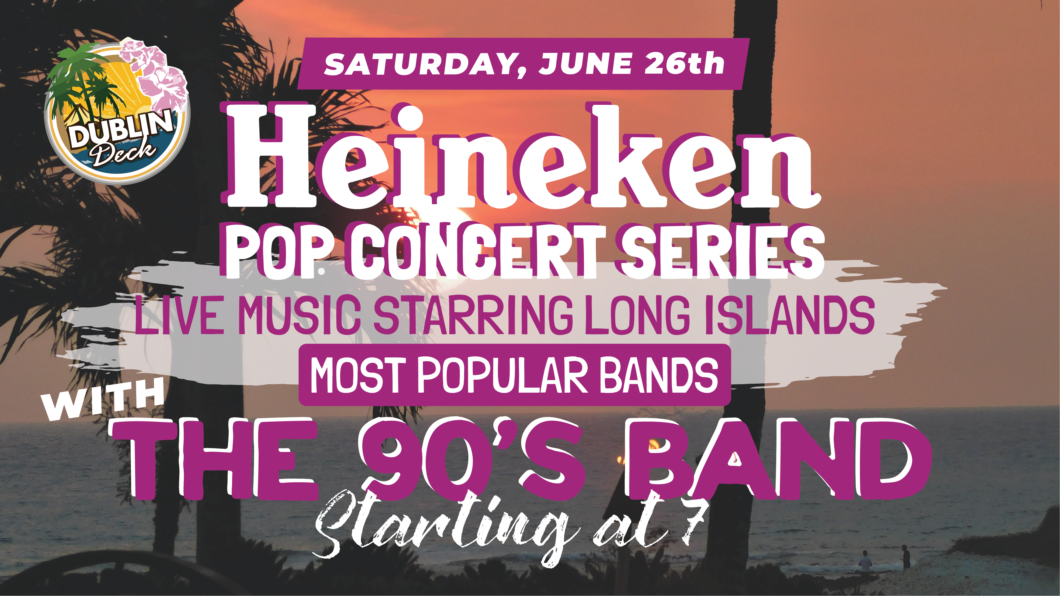 Live Music with The 90's Band