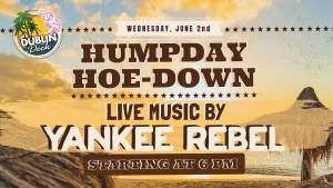 Live Music with Yankee Rebel June 2nd