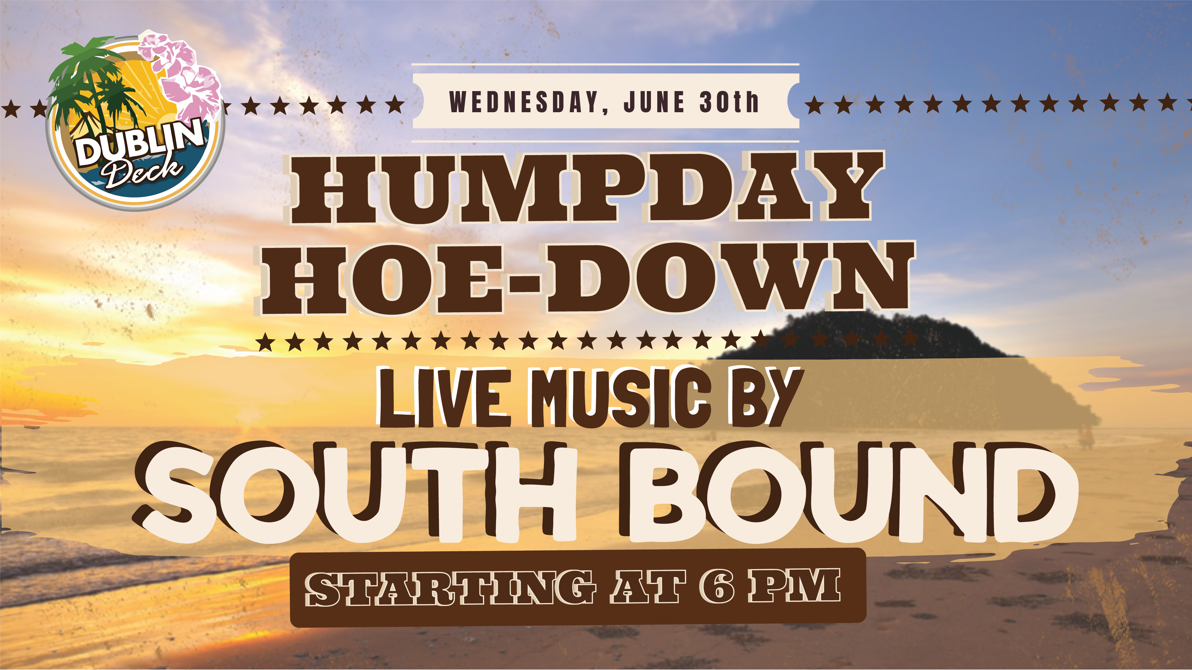 Live Music with South Bound June 30th