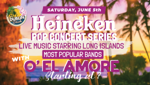 Live Music with O'El Amore June 5th