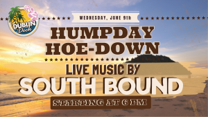 Live Music with South Bound June 9th