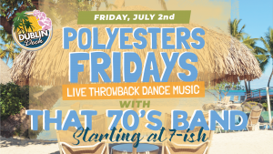 Friday July 2nd with That 70's Band 7:00 PM